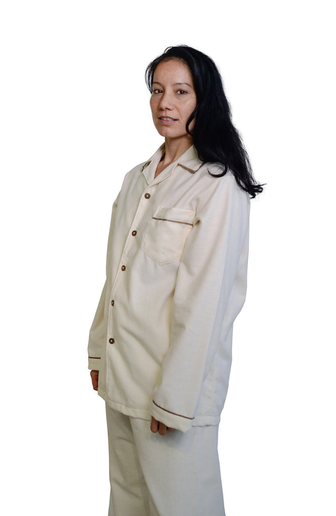 Organic Cotton Flannel Unisex Pajama Set