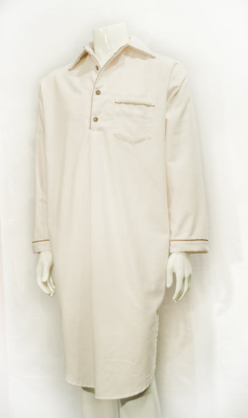 Organic Cotton Flannel Night Gown