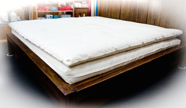 """Dream Bed"" Cotton Mattresses & Topper - Dreamdesigns.ca"