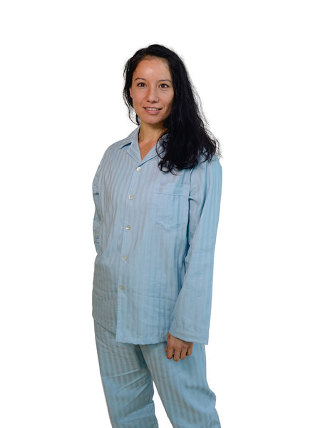 Organic Cotton Sateen Pajama Set