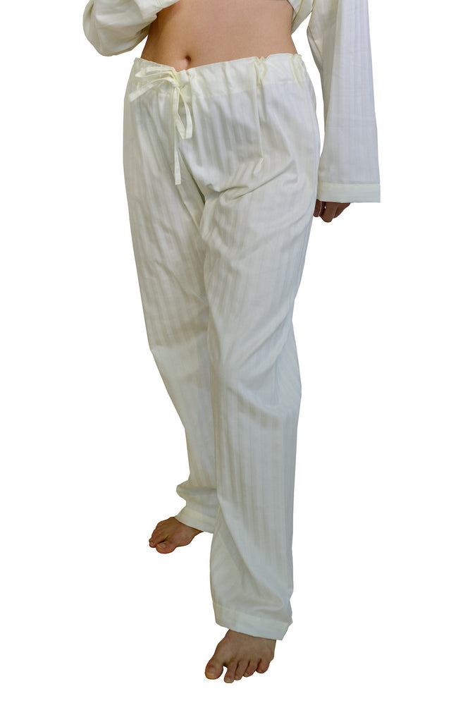 Organic Cotton Sateen Pajama Pants