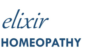 Logo of Elixir Homeopathy. Best homeopathic doctors in Gurgaon.