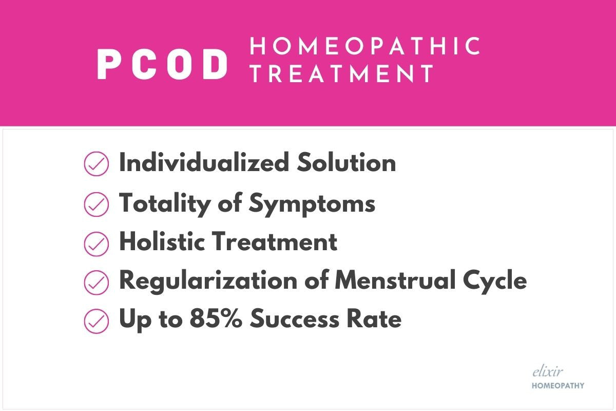 PCOD/PCOS treatment solution in homeopathy.