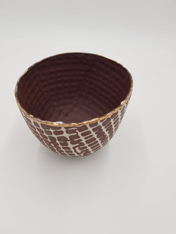 Red Tribal Ware Bowl