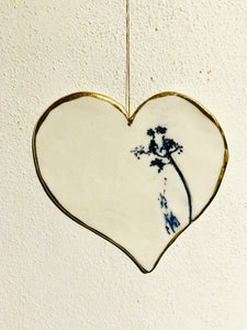 Decorative hanging heart