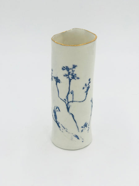 Cow Parsley Porcelain Vase