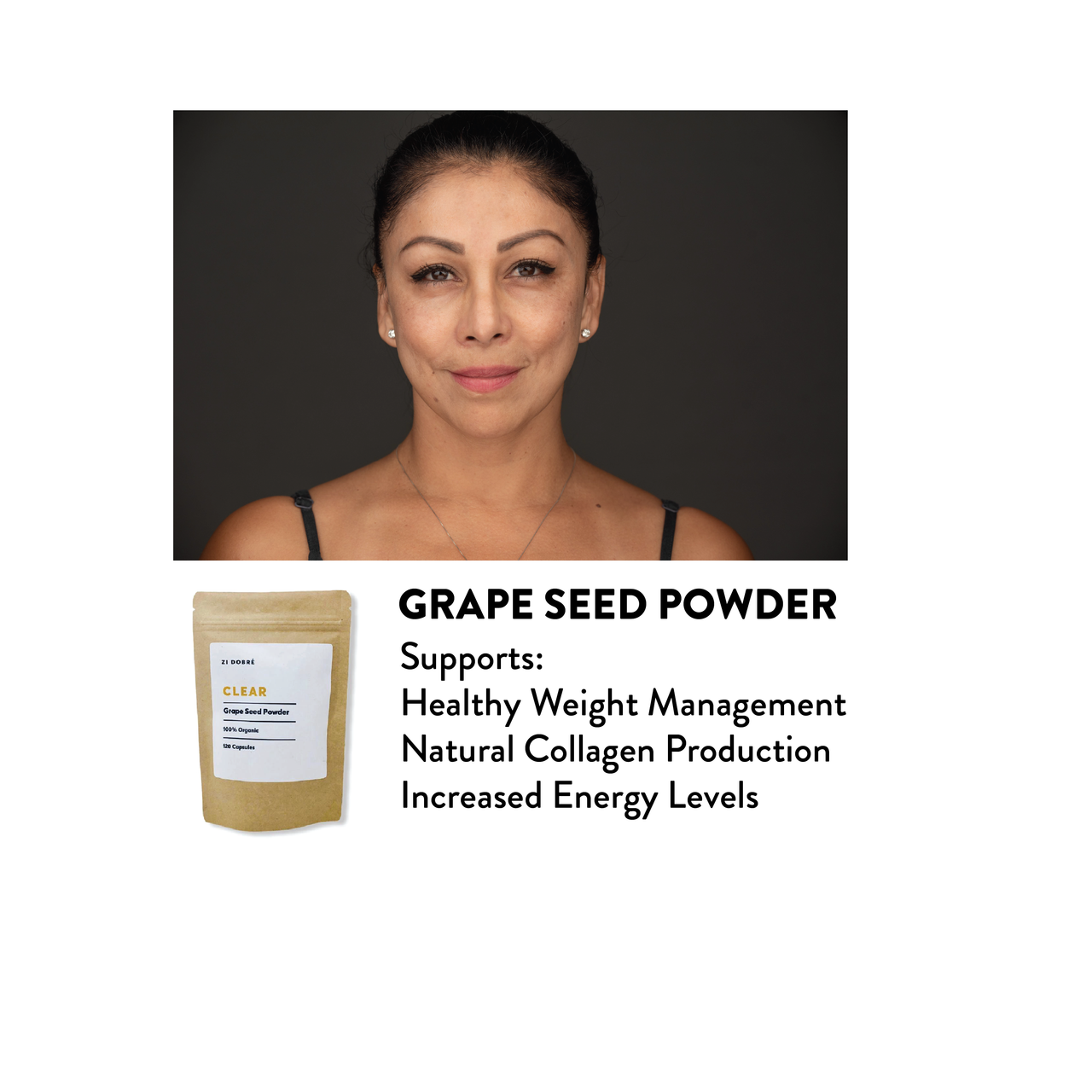 Our grape seed powder is a highly concentrated and all-natural plant-based source of antioxidants. With a potent supply of Polyphenol rich nutrients, and a wide range of micro-elements. Polyphenols are bioactive compounds with strong antioxidants.