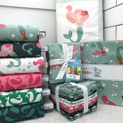 Ahoy Mermaids stackers and fat quarters