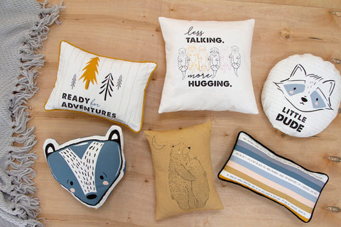 The Little Things Panel pillows