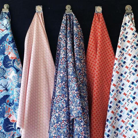 Monaluna's Modern Love collection 100% organic quilting cotton