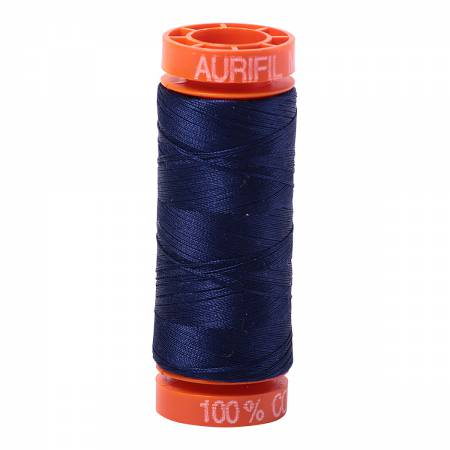 Aurifil 50wt Thread - Midnight 2745 (OEKO-TEX)