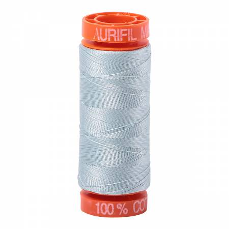 Aurifil 50wt Thread - Light Grey Blue 5007 (OEKO-TEX)
