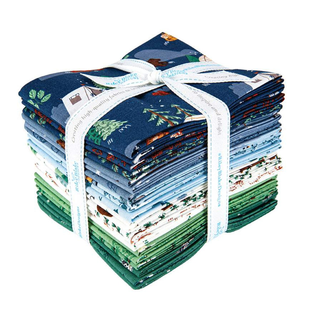 Fat Quarter Bundle, Riley Blake, Camp Woodland