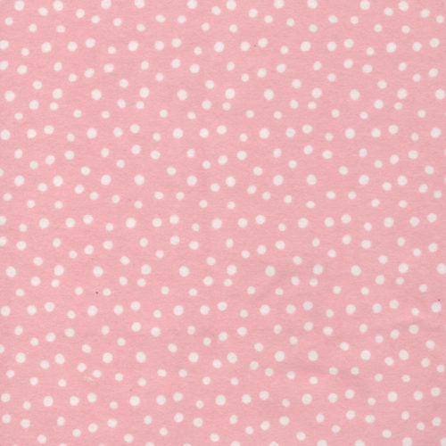 FLANNEL - Cloud 9 Fabrics, Northerly, Confetti in Pink (Organic)