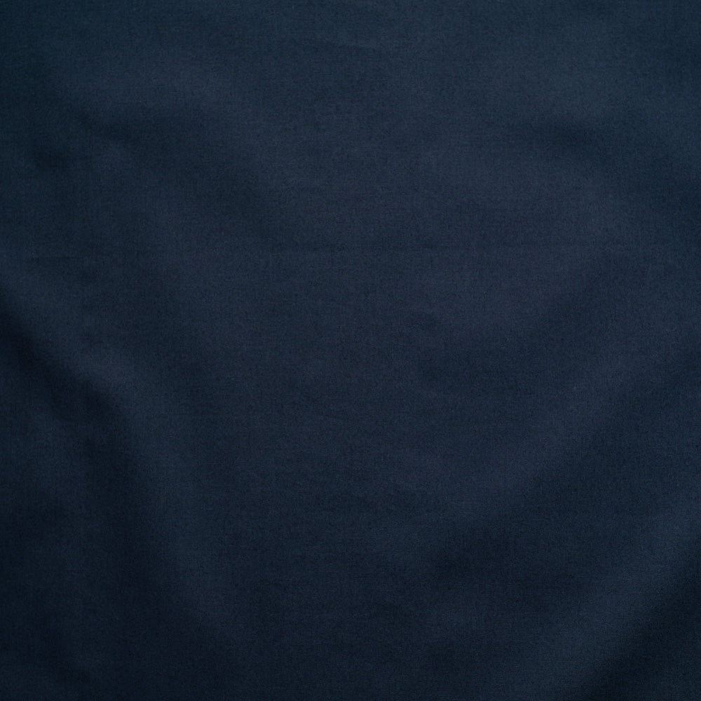 Navy Organic Solid Cotton Fabric, Birch Organic Fabric