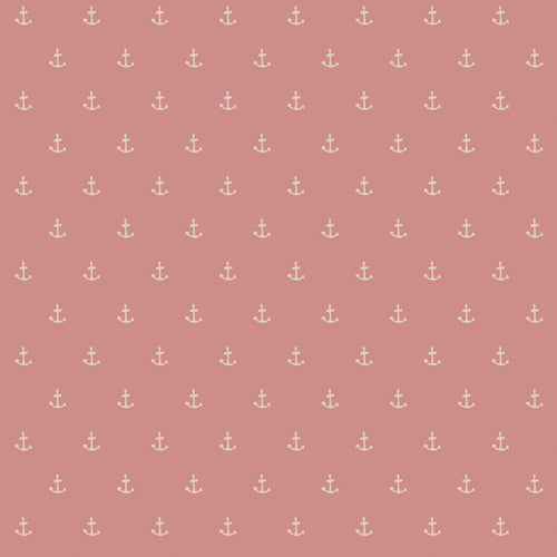 Nautique Spell in Blush, Enchanted Voyage, Maureen Cracknell, Art Gallery Fabrics (OEKO-TEX), Pink Anchor Fabric