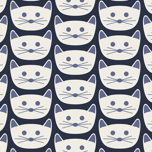 Cat Nap District Fabric, Dana Willard, Art Gallery Fabrics (OEKO-TEX)