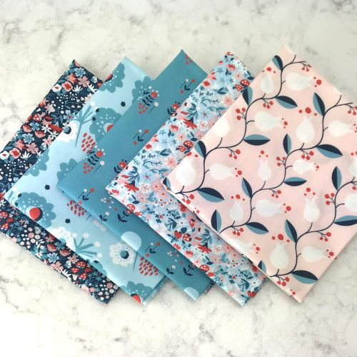 Organic Floral Fat Quarter bundle
