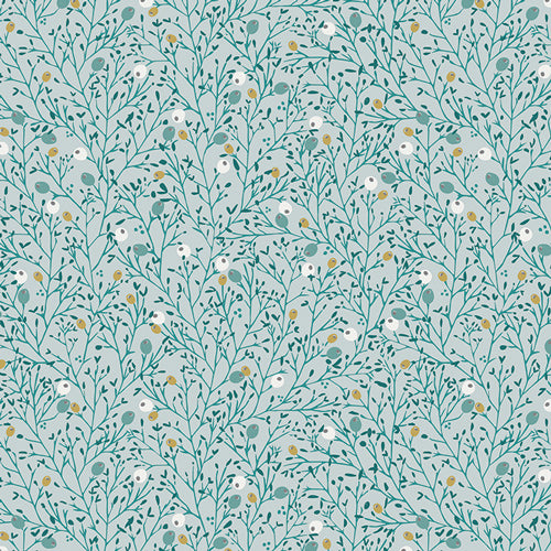 Art Gallery Fabrics, Little Town, Winterberry Mist (Oeko-Tex)