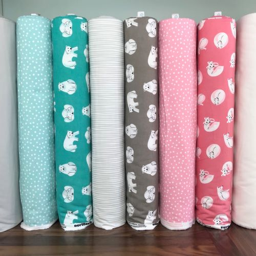 Northerly, Cloud9 Fabrics, Organic Cotton Flannel Fabric