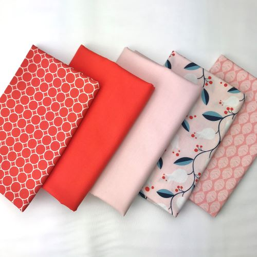 Organic Valentine Fat Quarter Bundle