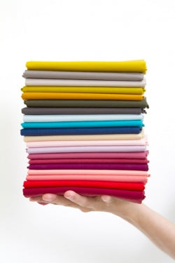 Stack of Pure Solids, Art Gallery Fabrics