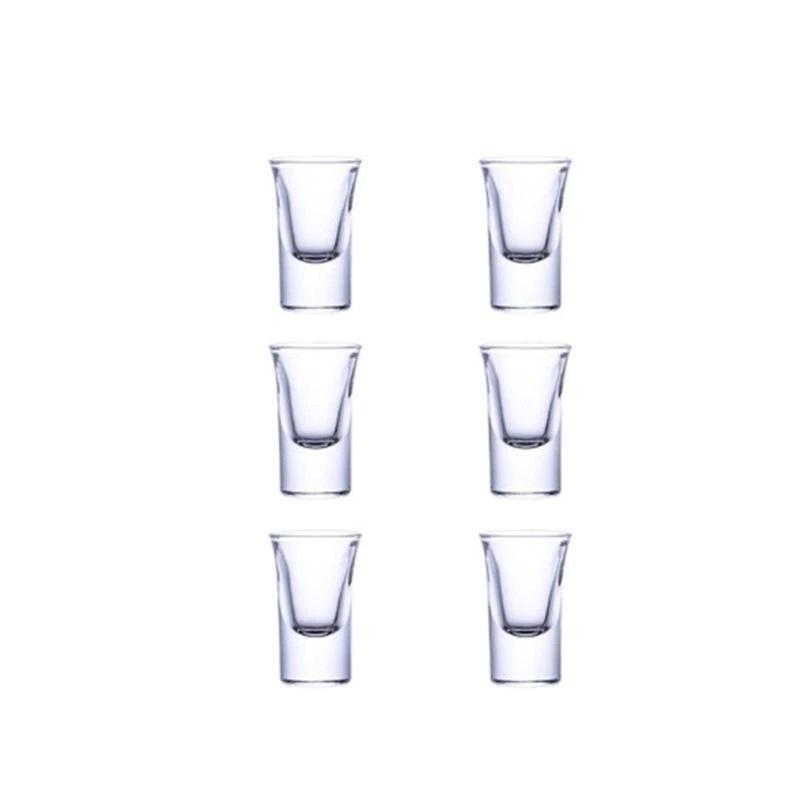 additional 6 transparent cups - shopnormad