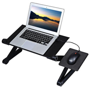 Adjustable ergonomic portable aluminum laptop desk - shopnormad