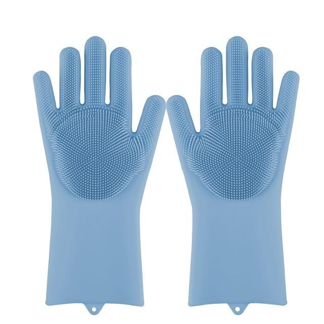 Silicone Multi-purpose Cleaning Glove - shopnormad