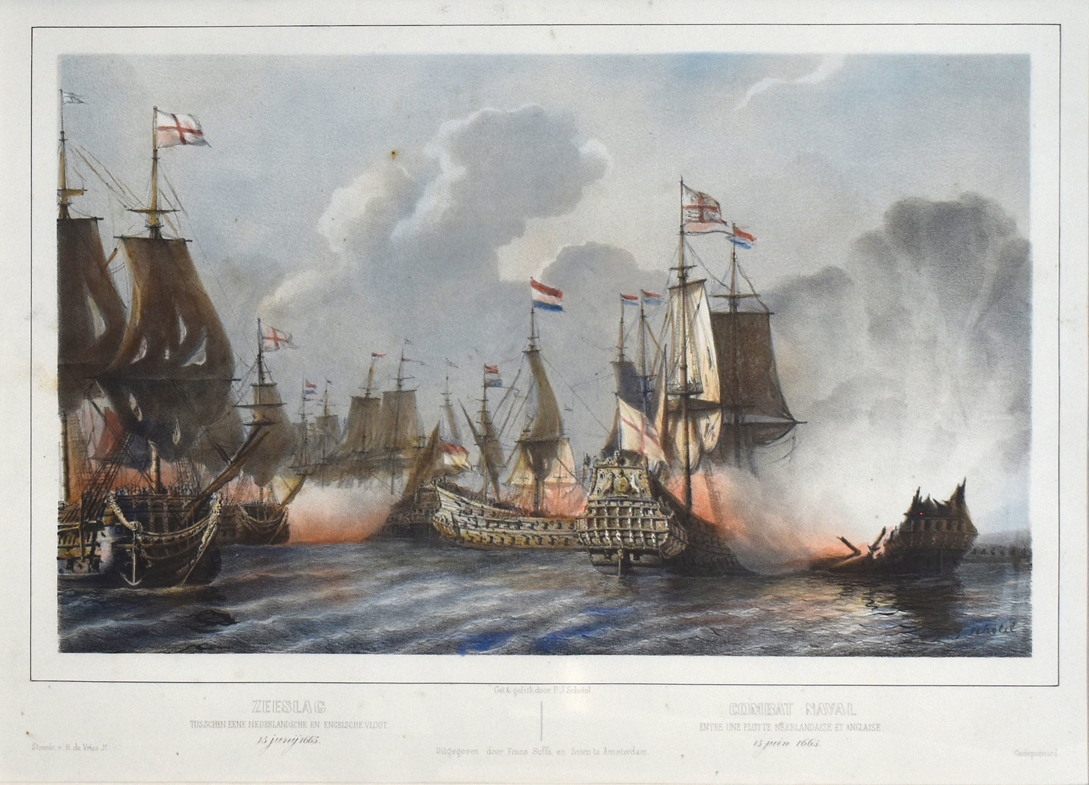 Naval Battle: Schotel 1850