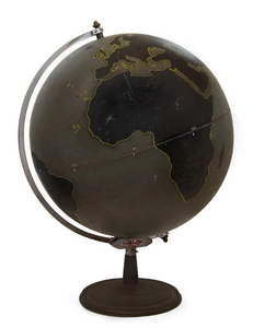 American Military Campaign Planning Globe: Denoyer Geppert Company 1944
