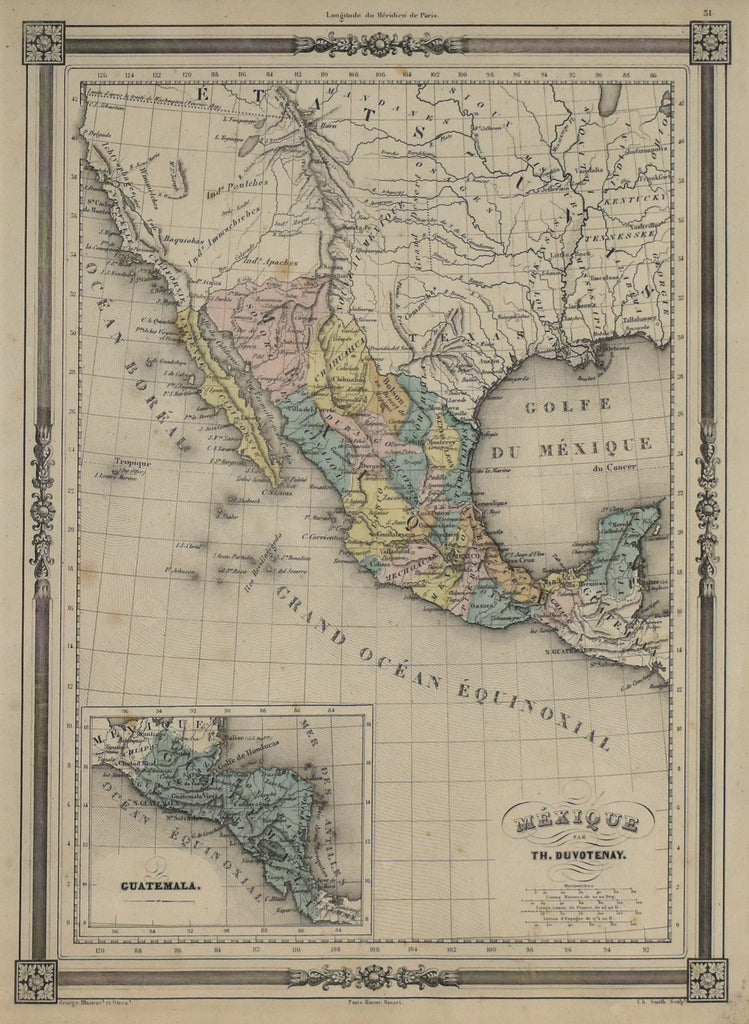 Mexique: Duvotenay 1849