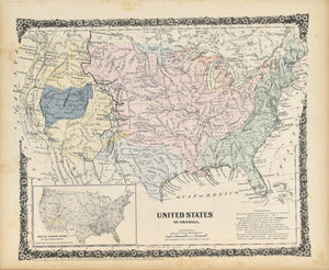 United States of America: Colton 1859