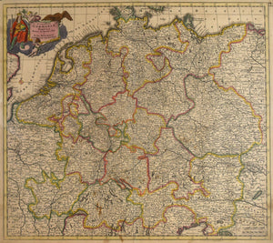Accuratissima Germania Tabula: Danckerts 1690