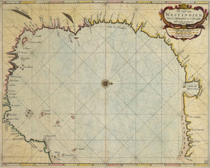 Coast of the West Indies: Arent Roggeveen and Jacob Robijn 1680