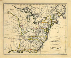 United States of America: Rev. E. Patteson 1804