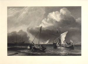 The Storm: William Miller (after Van De Velde) 1858