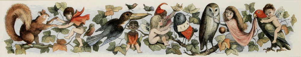 Fairy Child's Play: Richard Doyle 1870