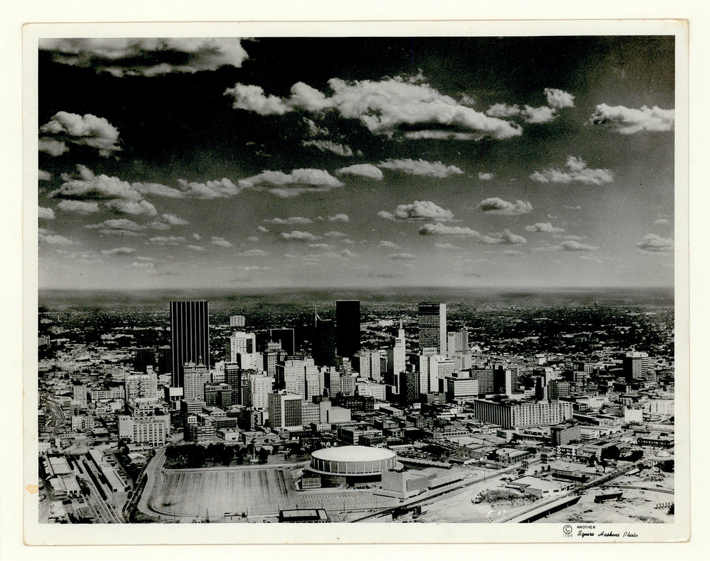 Old photo of Dallas, Texas