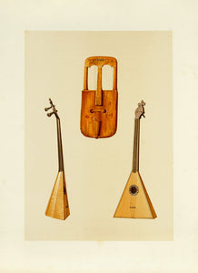 Welsh Crwth, Russian Balalaika: A.J. Hipkins 1888