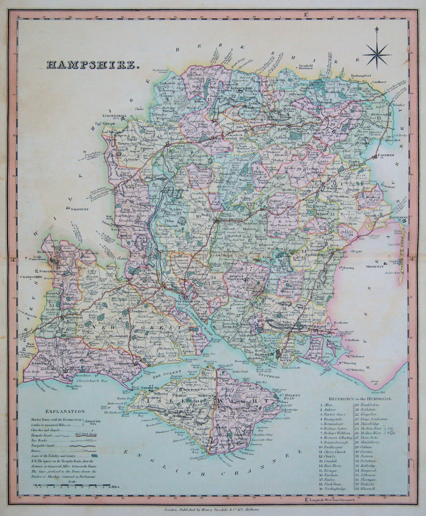 Hampshire: Teesdale 1830