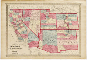 American Southwest: Johnson 1872