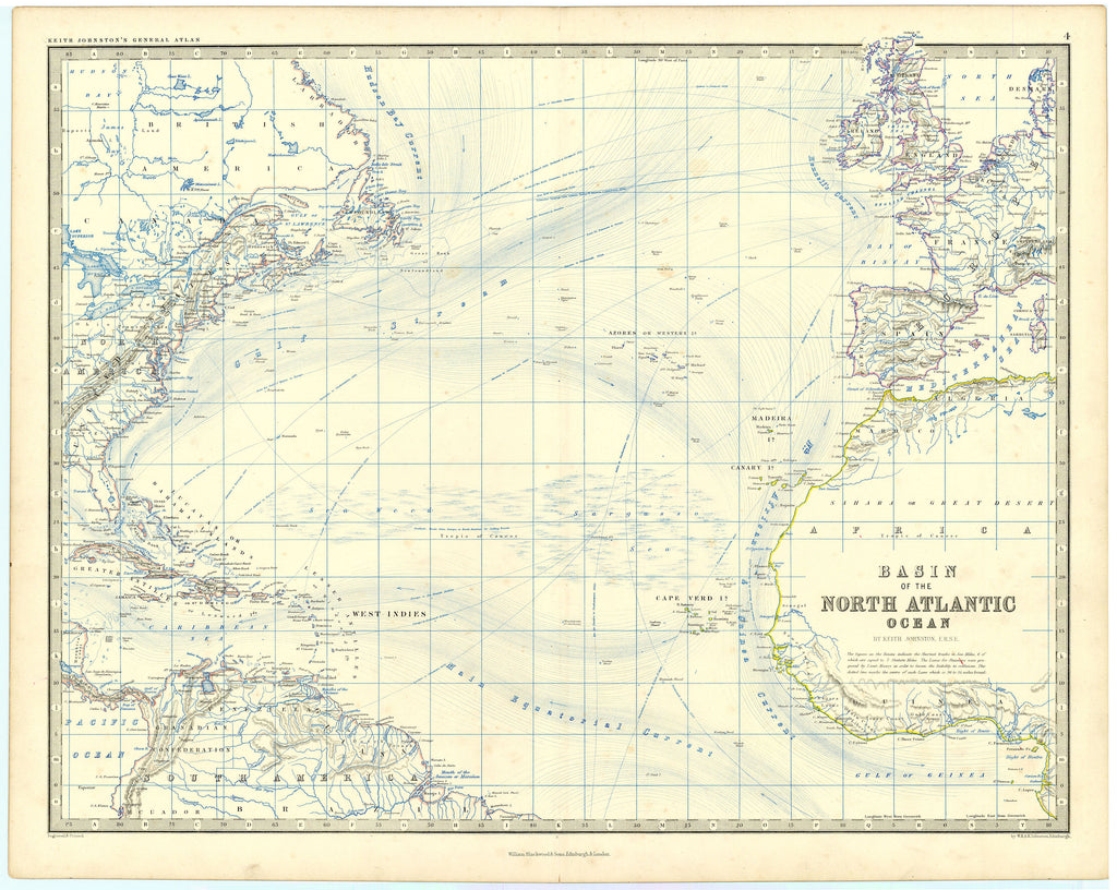 Basin of the North Atlantic Ocean: Johnston