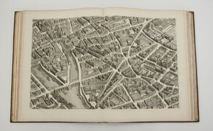 Plan De Paris (Plan Of Paris): Michel-Etienne Turgot 1739