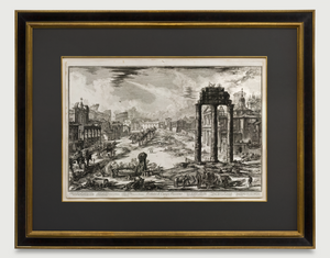 Framed View of the Campo Vaccino: Piranesi 1772