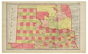 Texas & Indian Territory: Tunison 1885
