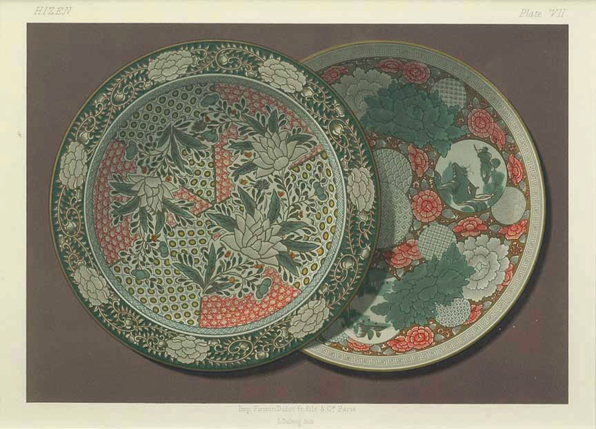 Japanese Porcelain, Plate VII: George A. Audsley & James Lord Bowes 1875