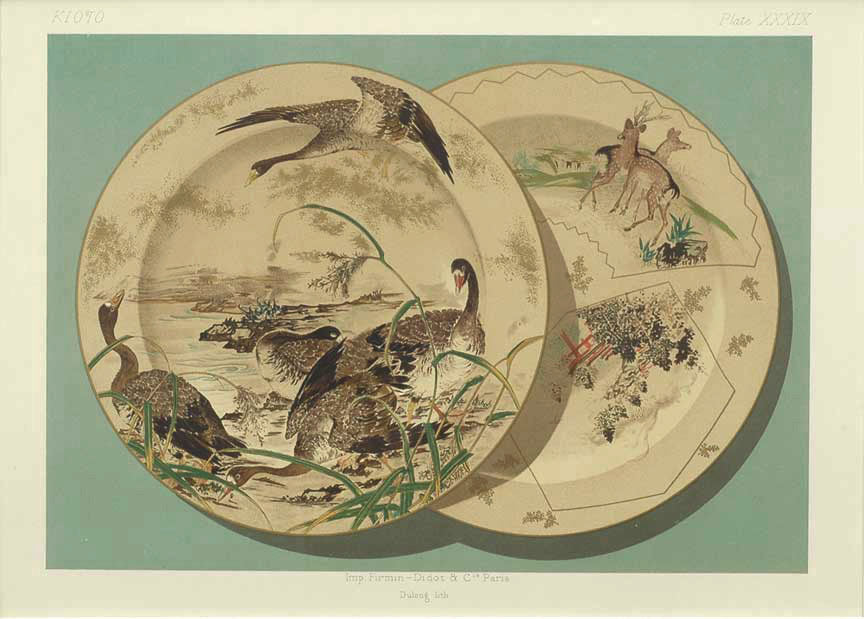 Japanese Porcelain, Plate XXXIX: George A. Audsley & James Lord Bowes 1875