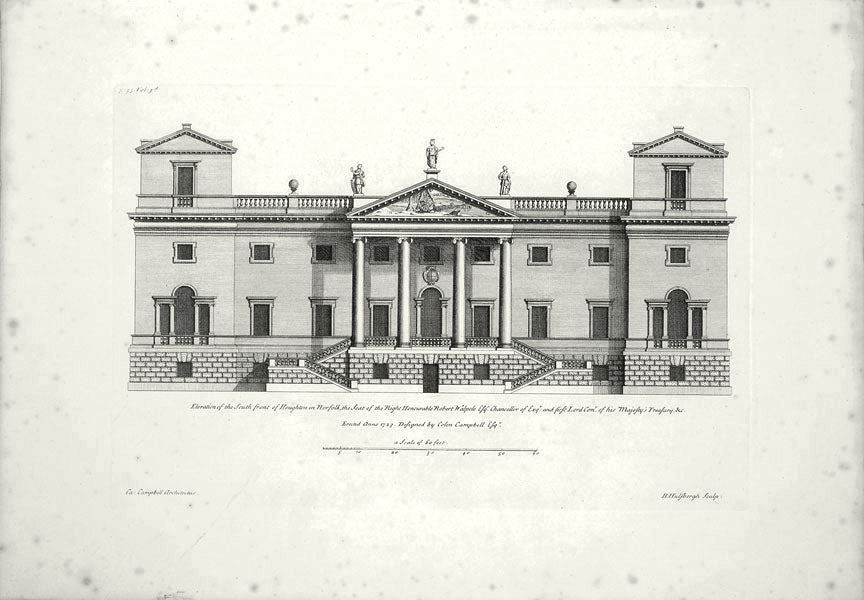 Houghton, South Front: Colen Campbell 1725