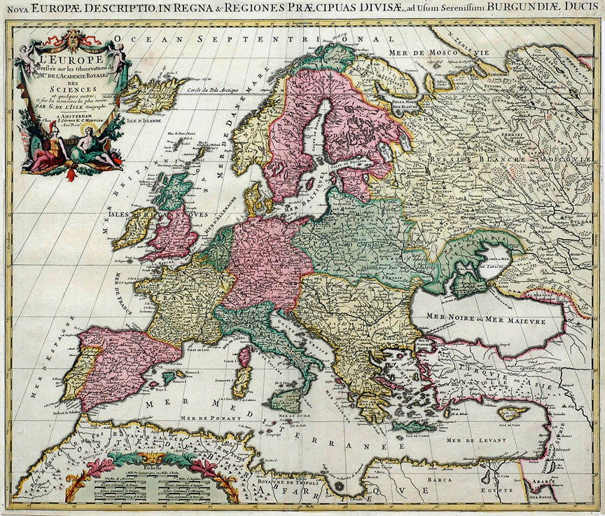 Europe: Covens & Mortier 1760